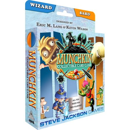 Steve Jackson Munchkin Collectible Card Game: Starter Set - Wizard and (Munchkin Hung Himself In The Wizard Of Oz)