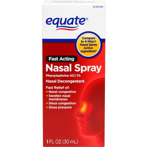 Equate Fast Acting Nasal Spray, 1 fl oz by PERRIGO COMPANY