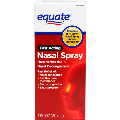 Equate Fast Acting Nasal Spray, 1 fl oz