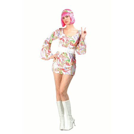 Disco Girl Costume - Girl Disco Costume