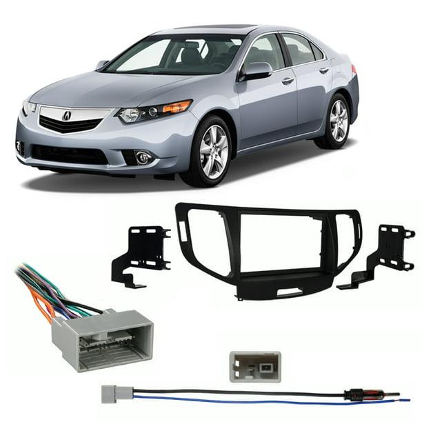 Fits Acura TSX 09-14 W/o NAV Double DIN Stereo Harness