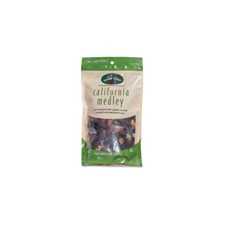 SN01109 Second Nature California Medley - Sodium-free, Cholesterol-free - Pouch - 5 oz - 12 / Carton