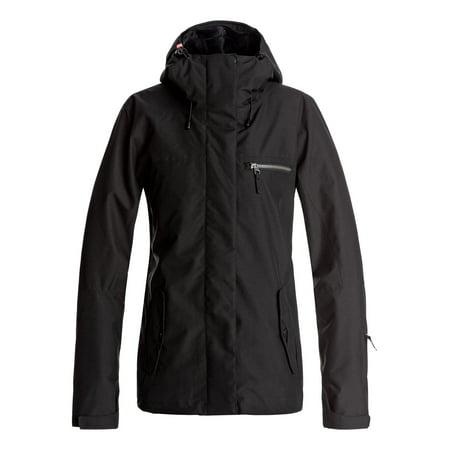 Roxy Womens Jetty 3N1 Snow Ski Jacket Snow Ski Jacket - True Black