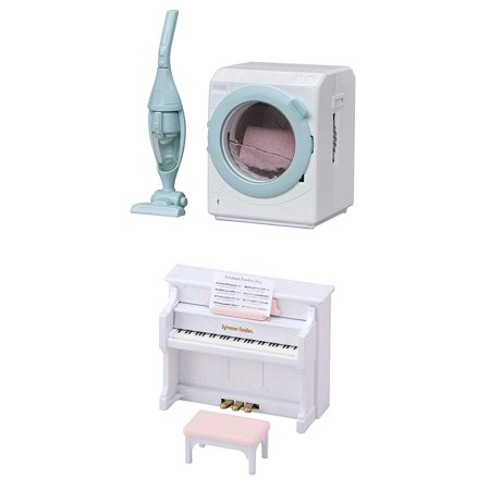 Two Different Toys – Washing Machine and Piano Sets (Japan Import) House Of Troy Piano Lamp