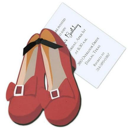 Stevie Streck Designs AW947 BOX Chaussures Dorothy avec Tag ruban noir sans paillettes - image 1 de 1