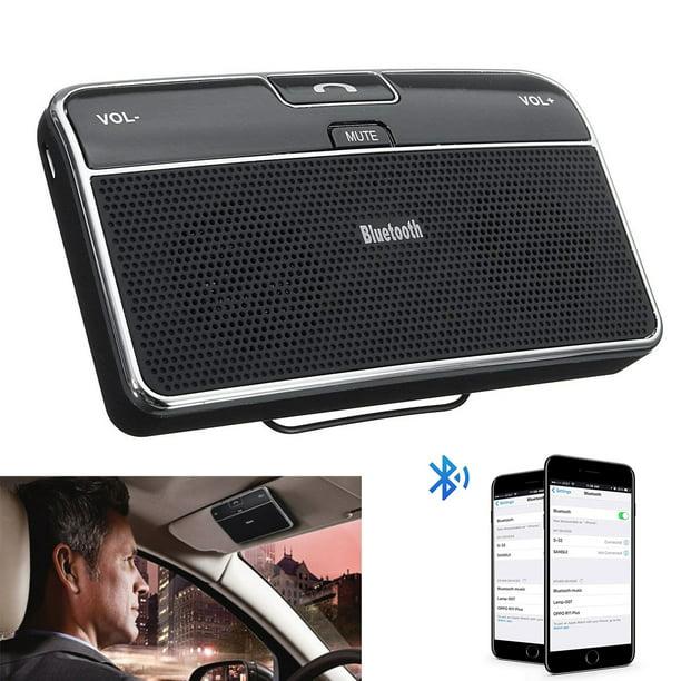 Wireless Bluetooth Handsfree Multipoint Visor Clip Car Speaker Kit Walmart Com Walmart Com