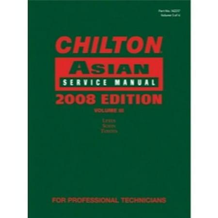 Chilton 2008 Asian Service Manual Volume 3