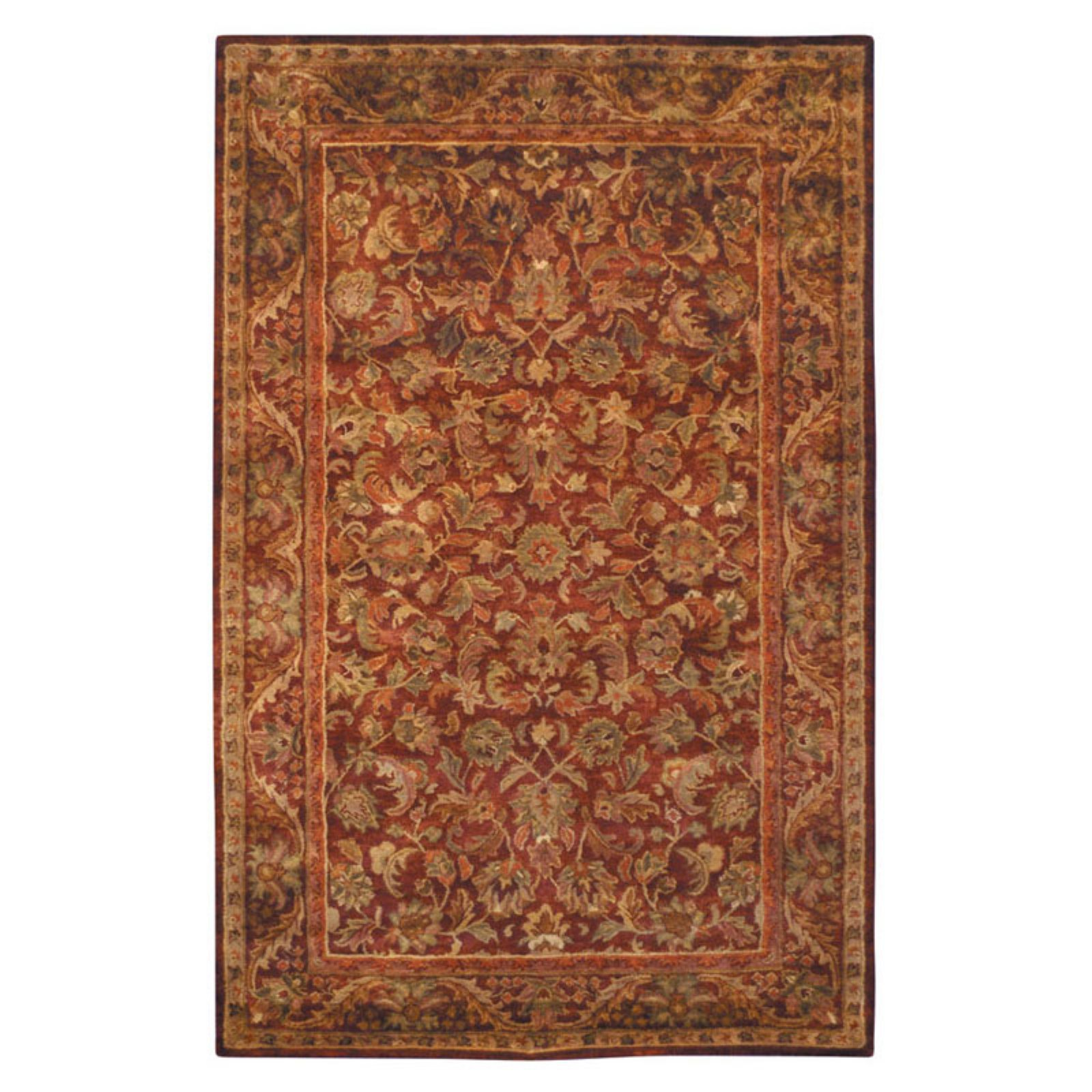 Safavieh Antiquity Carmella Floral Bordered Area Rug Or Runner