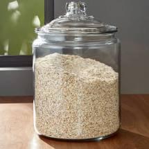 Anchor Hocking Glass Storage Heritage Hill Jar, 1 gal