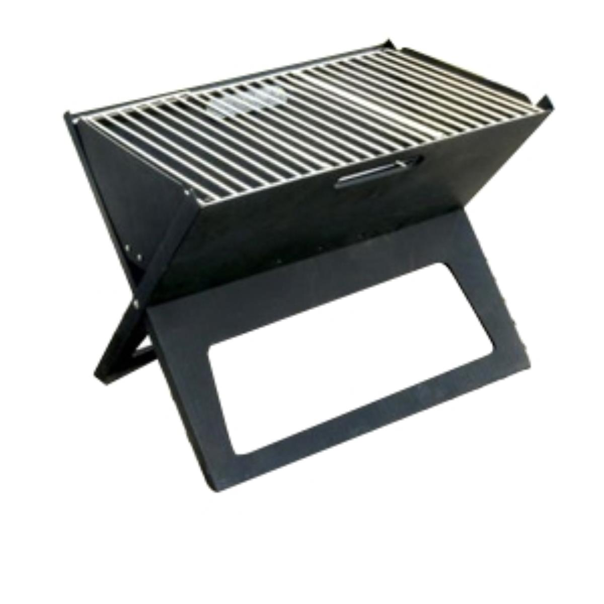 Well Traveled Living HotSpot Notebook Folding Mini Charcoal Grill