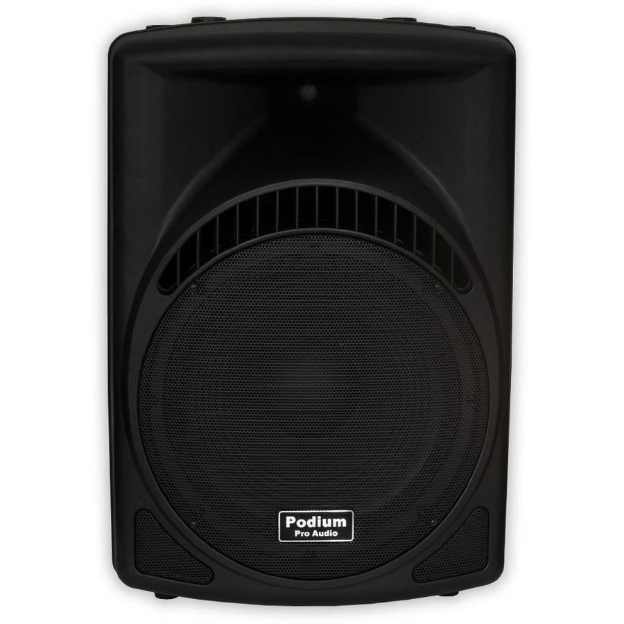 "Podium Pro PP1504CD Powered 900W Active 15"" MP3 Speaker DJ, PA, Karaoke, Band"
