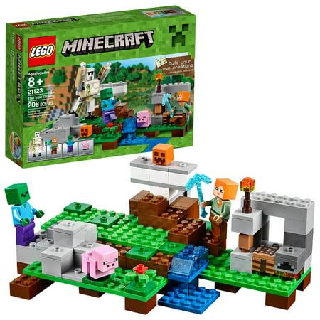 lego minecraft the iron golem 21123 walmart com