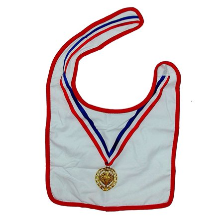 Two's Company Modern and Hip Baby Novelty Gift Bib (Olympian) (Novelty Companies)