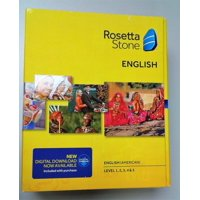 Rosetta Stone English (American) Conversation Bundle
