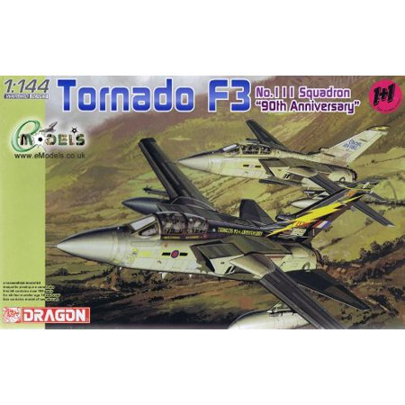Tornado F3 No.111 Sq. 90th Anniversary Aircraft (2 Kits) 1-144 Dragon, Scale: 1/144 By Dragon Models USA