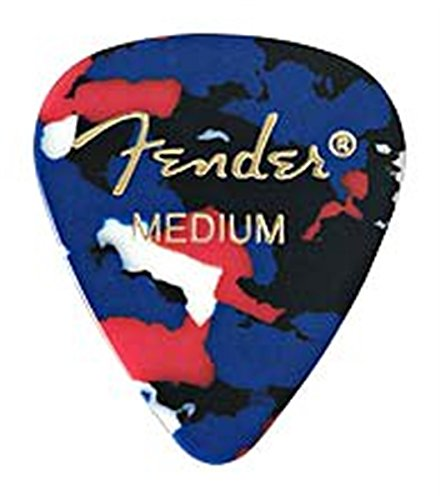 Click here to buy 351 Shape Premium Picks (12 Pack) for electric guitar, acoustic guitar, mandolin, and....