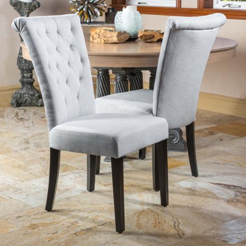 Christopher Knight Home Venetian Tufted Dining Chairs Set