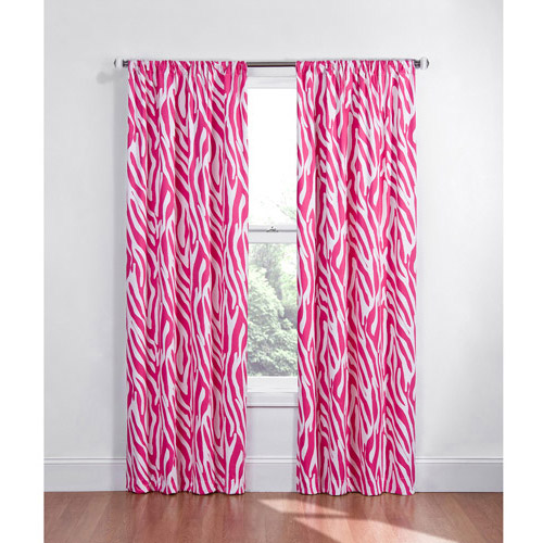 Eclipse Kids Zebra Energy-Efficient Blackout Curtain