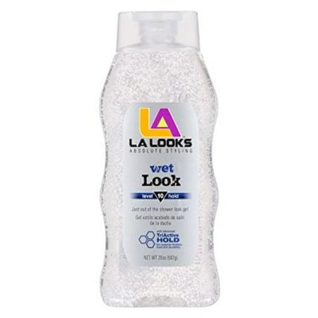 L.A.Looks Wet Look Gel Size 20.Z L.A.Looks Wet Look Gel (West Loop Leather)
