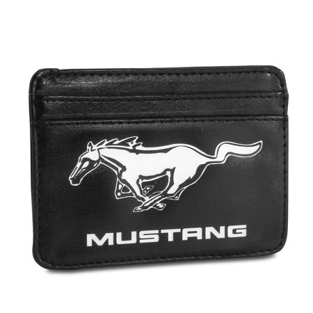 Ford Mustang Synthetic Leather Credit Cards Weekend Wallet