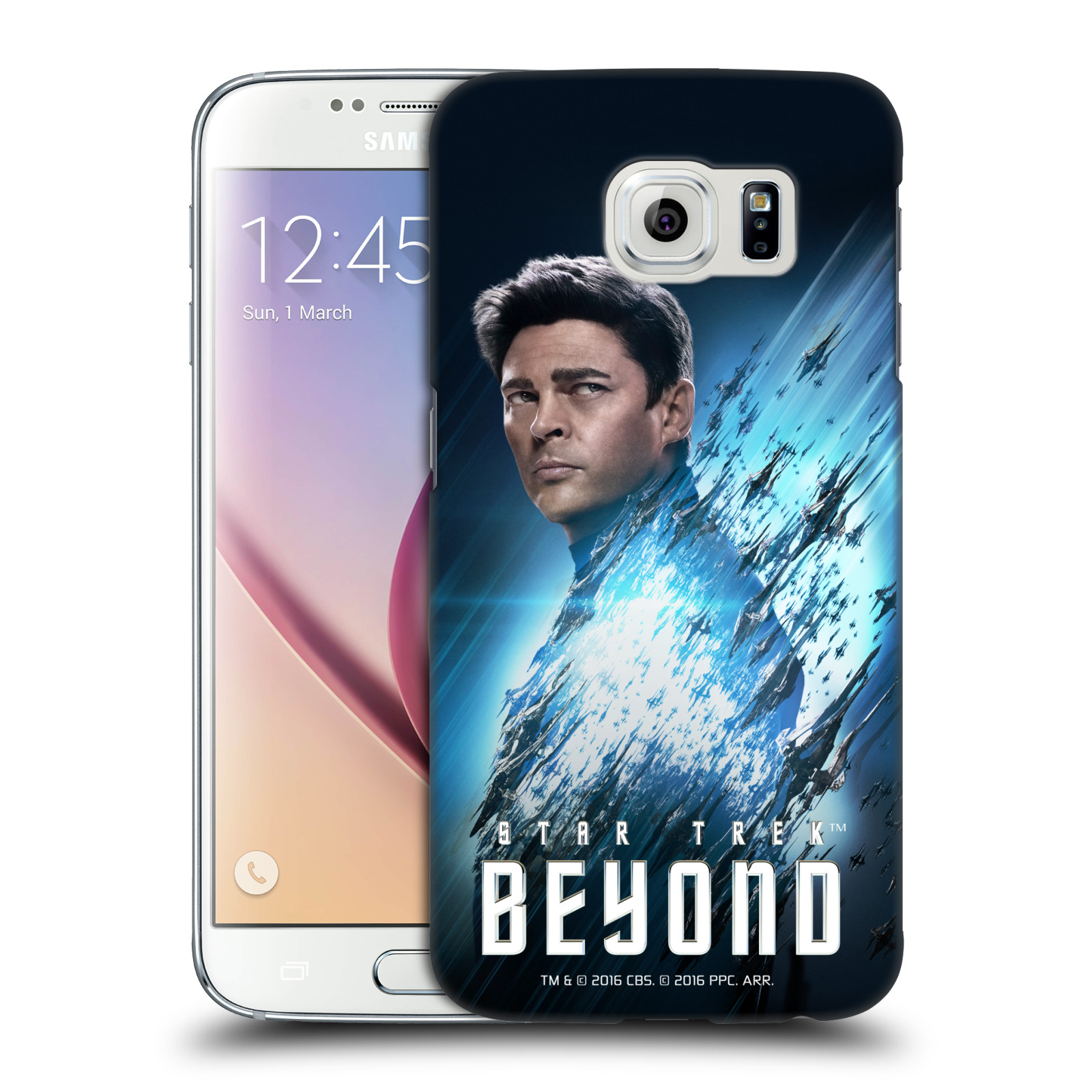 OFFICIAL STAR TREK CHARACTERS BEYOND XIII HARD BACK CASE FOR SAMSUNG PHONES 1