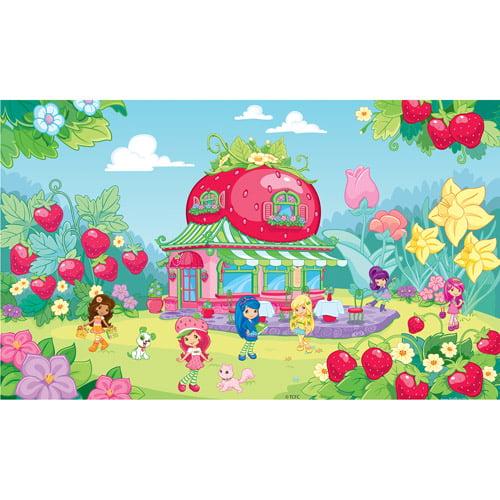 RoomMates Strawberry Shortcake XL Wall Mural