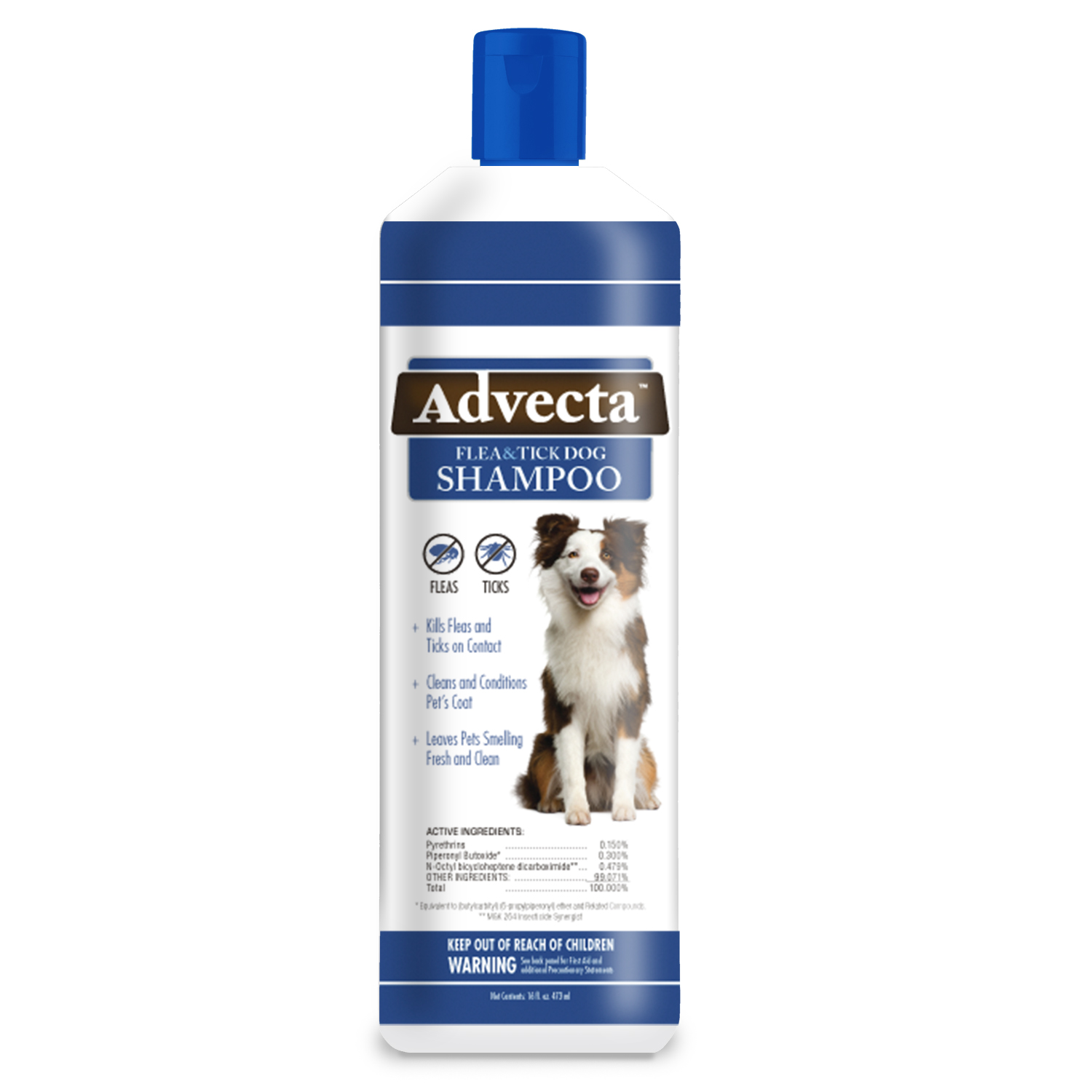 Image of Advecta Flea and Tick â Flea and Tick Shampoo for Dogs