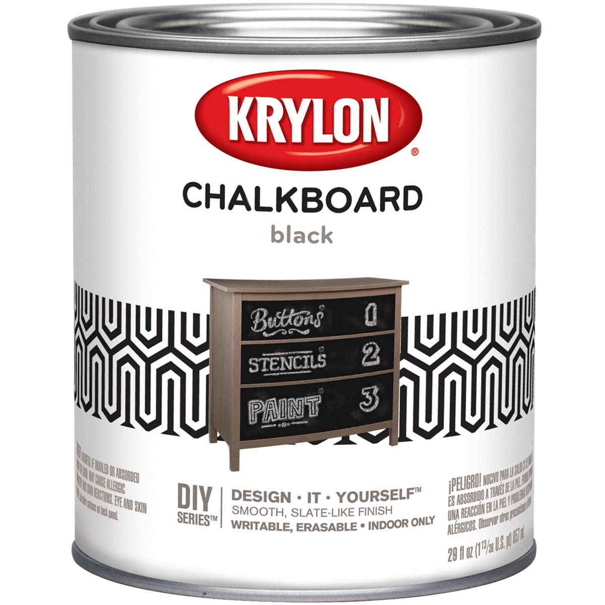 Krylon Chalkboard Paint Quart Black