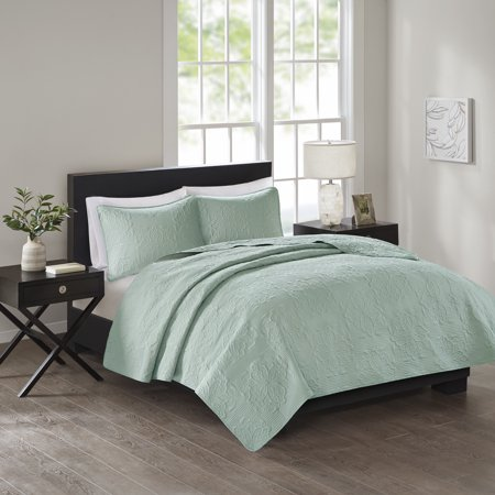 - 510 Design Nonie 3 Piece Embossed Coverlet Bedding Set