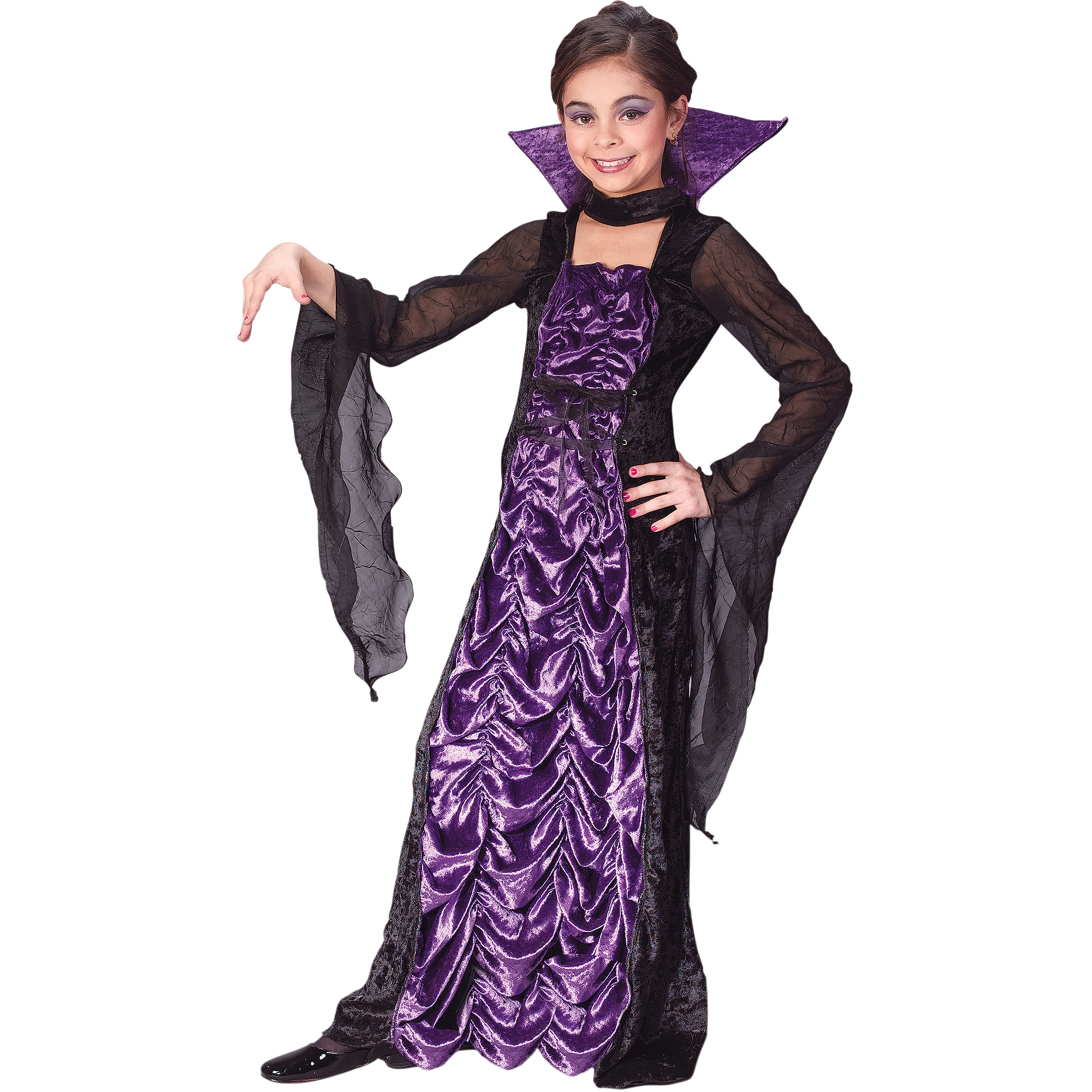 sc 1 st  Walmart & Fun World Countess of Darkness Child Halloween Costume - Walmart.com