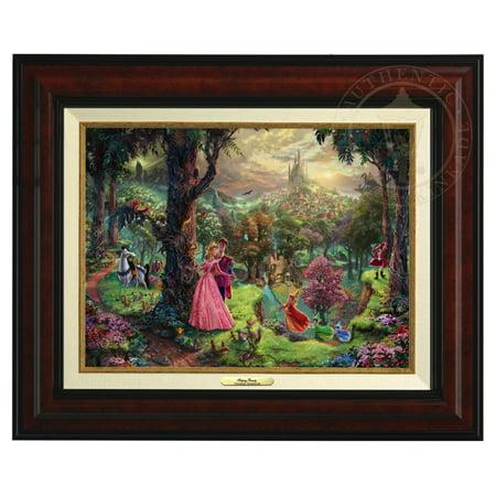 Thomas Kinkade Sleeping Beauty - Canvas Classic (Burl (Thomas Kinkade Oil Painting)