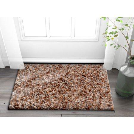 Well Woven Emily Soft Plush Moroccan Shag 2x3 (2' x 3') Accent Doormat Area Rug - Shag Door Mat