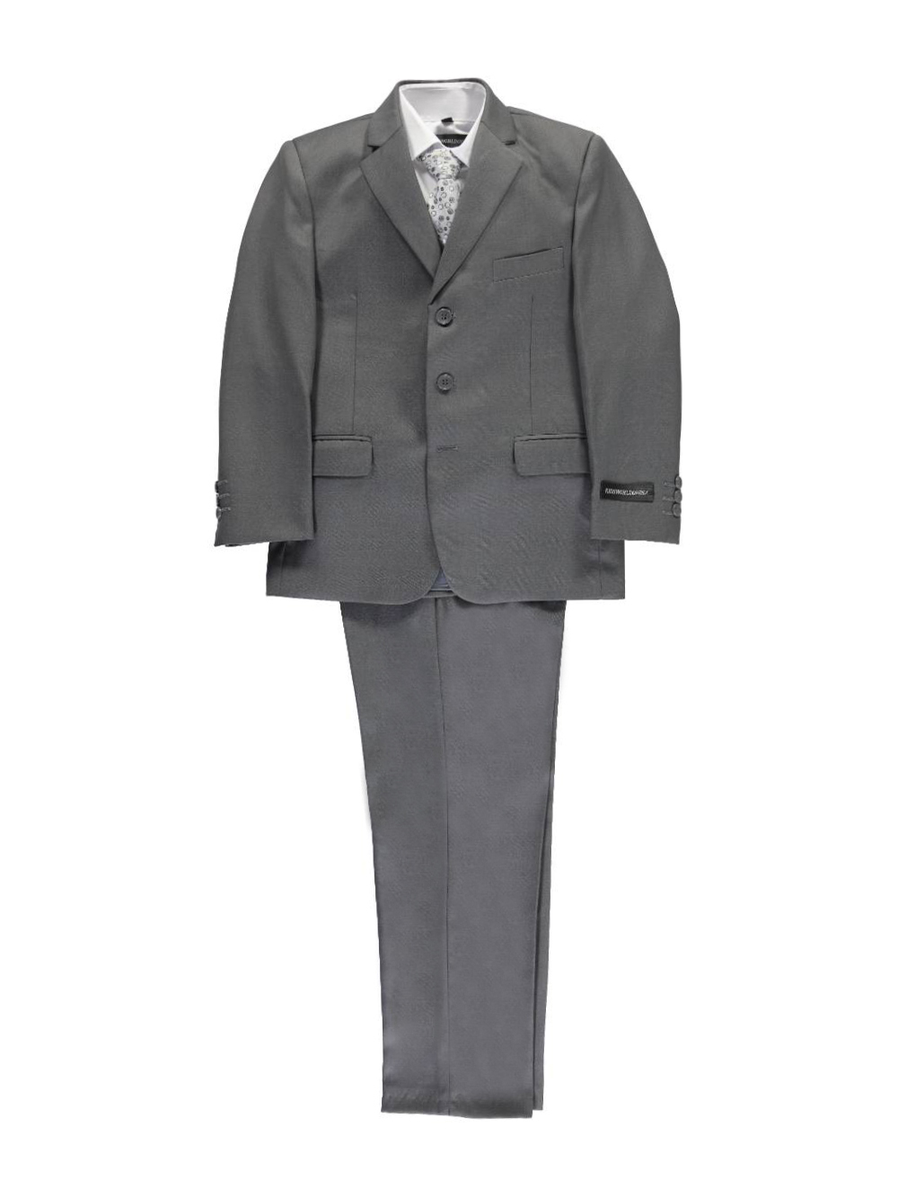 """Big Boys' """"In Charge"""" 5-Piece Suit (Sizes 8 - 20)"""