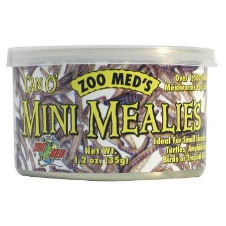 Zoo Med Laboratories SZMZM47 Zoo Can O Mini Mealies, 1.2-Ounce
