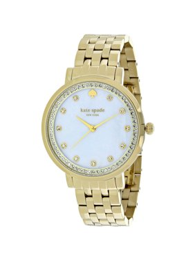 Kate Spade New York Women's Monterey Mother Of Pearl Dial Stainless Steel Watch 1YRU0821