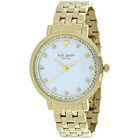 Kate Spade Monterey Mother Of Pearl Dial Stainless Steel Ladies Watch 1YRU0821 (Jack Spade Watch)