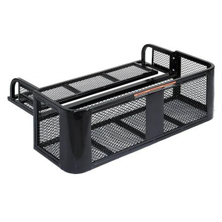 ATV UTV Universal Rear Drop Basket Rack Steel Cargo (Utv Basket)