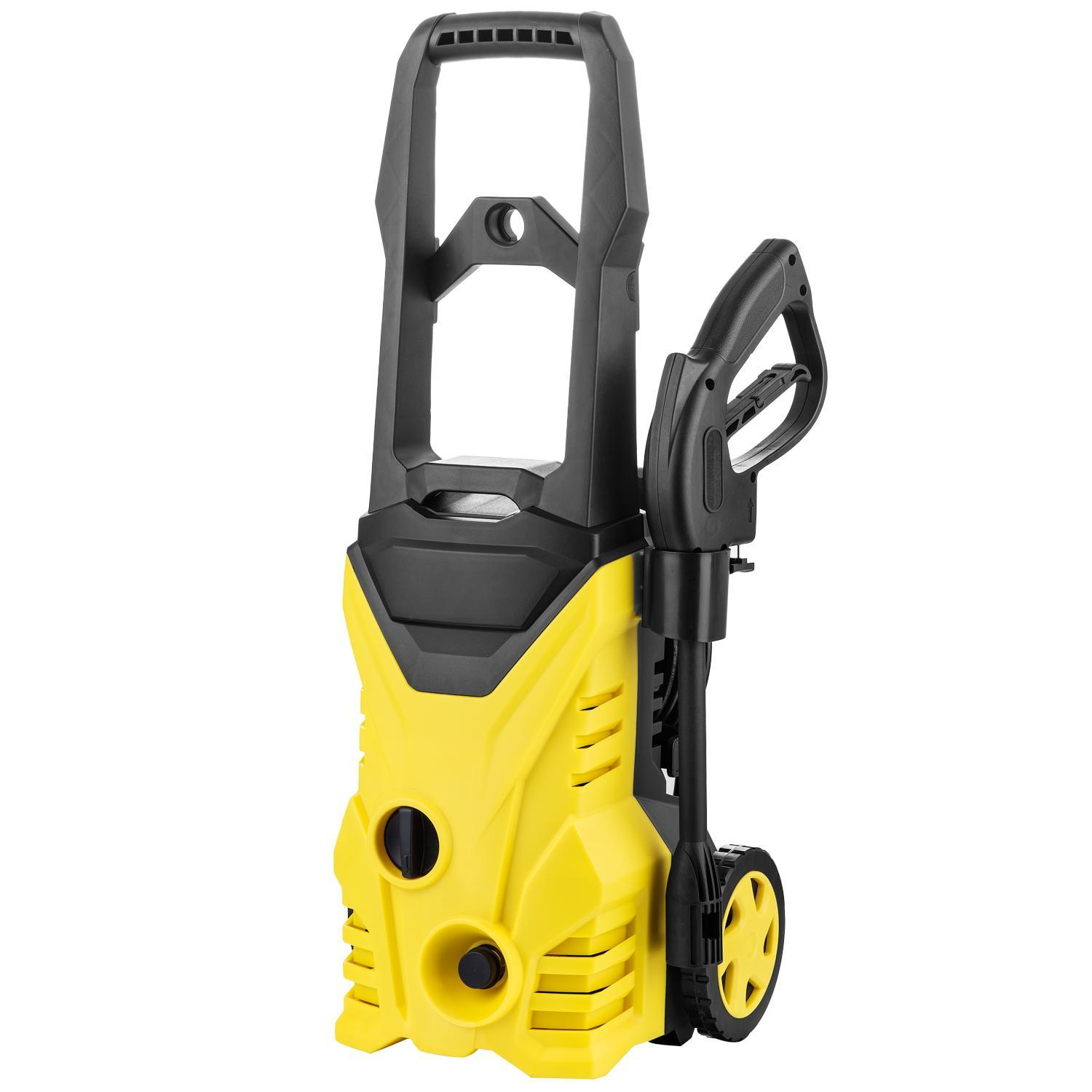 2000 PSI 1.4 GPM Electric Pressure Washer  with Power Hose Nozzle Gun and Soap Dispenser,(2) Spray Nozzle Adapter BLETE
