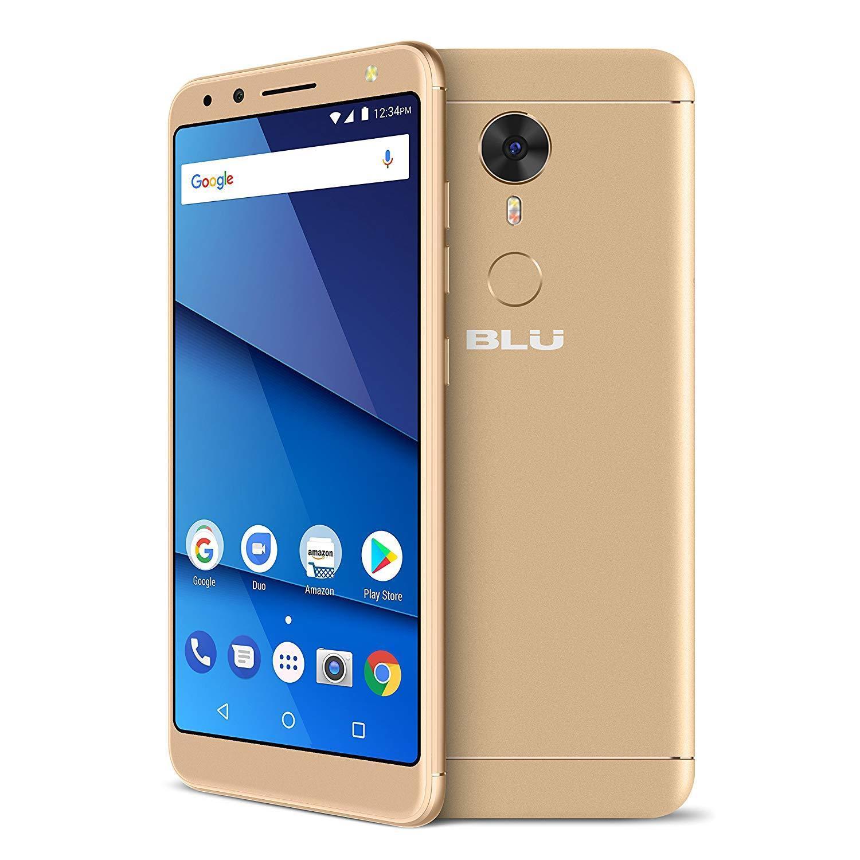 "BLU Vivo One 5.5"" V0270WW HD Smartphone 16GB GSM Unlocked 12MP Dual Sim Android - Gold"