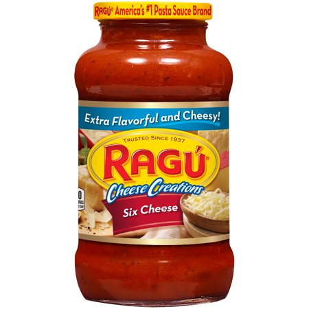 Ragu Cheese Creations Six Cheese Pasta Sauce 24 (Cheese Sauce With Water Instead Of Milk)