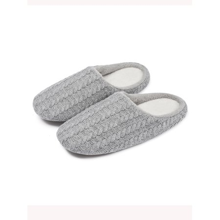 13657fad2 NK Fashion - NK Fashion Unisex Men's & Women's Memory Foam House Slippers  Soft Sole Anti-Slip Slippers Indoor Shoes Warm - Walmart.com