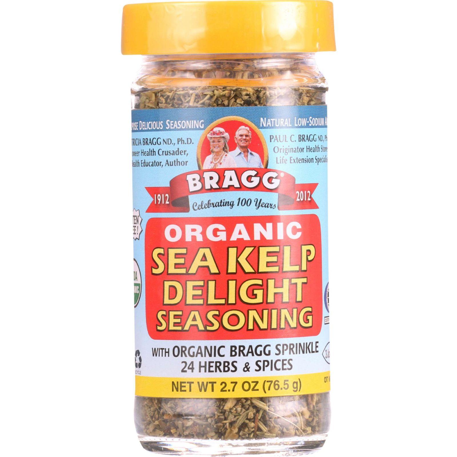 Bragg Seasoning Organic Sea Kelp Delight 2.7 oz case of 12 by
