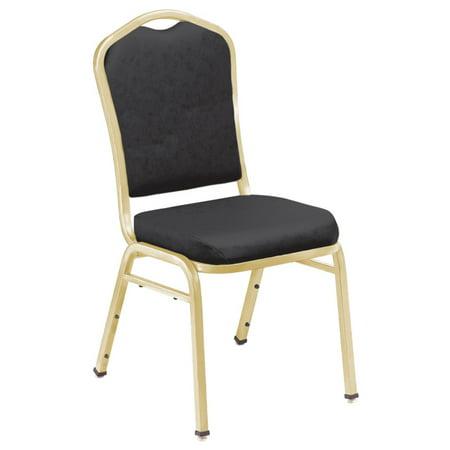 National Public Seating 9300 N Series Vinyl Stacking Chair - 2 - Slat Vinyl