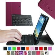 Fintie Bluetooth Keyboard Case for LG G PAD 8.3 Model V500/V510 (Wifi) & VK810 (Verizon 4G LTE), Purple