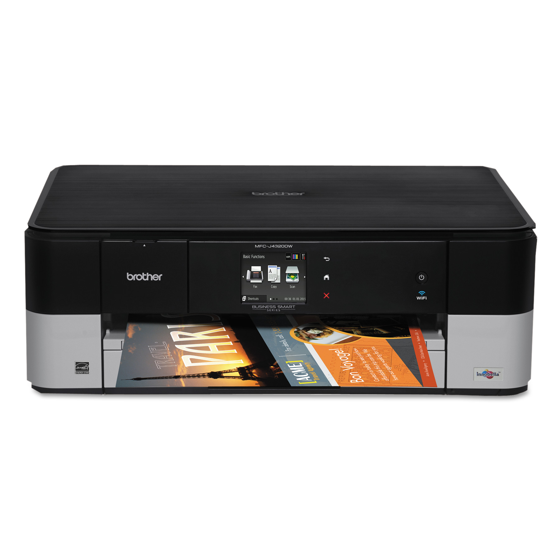 Brother Business Smart MFC-J4320DW Multifunction Inkjet Printer, Copy/Fax/Print/Scan