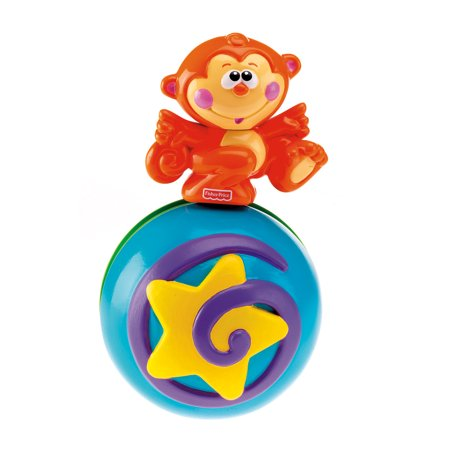 Fisher Price Go Baby Go Crawl Along Musical Ball Walmart Com