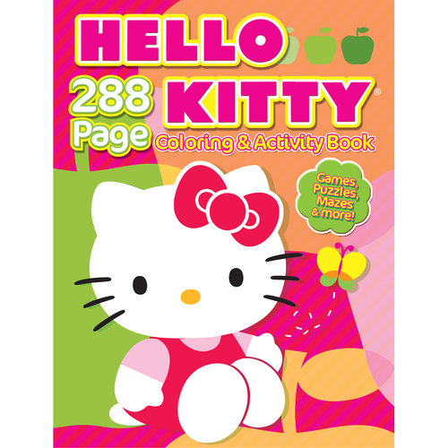 Hello Kitty Coloring and Activity Book by Generic