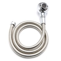 "Asewin 47"" Handheld Shower Head and Long Hose Zinc Alloy Bathroom Faucet Kit"