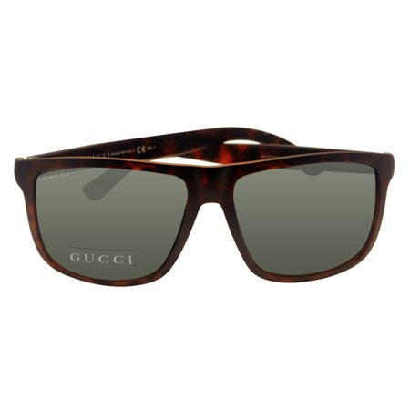 Gucci GG1075/N/S QXG Dark Havana Square Sunglasses