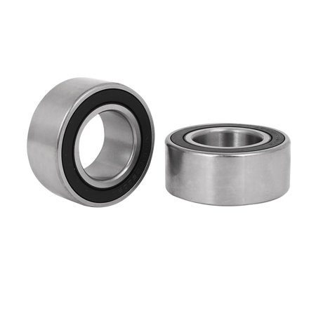 30mm x55mm x 23mm Metal Shielded Deep Groove Radial Ball Bearing 2pcs - image 2 of 2